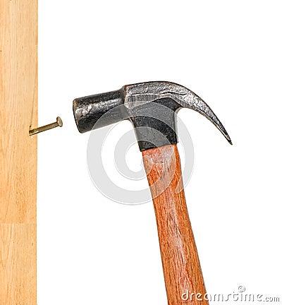 Vertical Pounding Nail