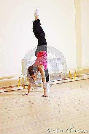 Vertical split