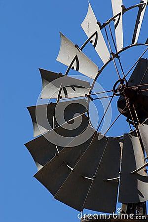Vertical windmill head