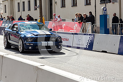 VERVA Street Racing show in Warsaw, Poland Editorial Stock Image