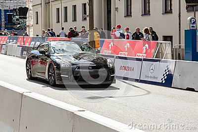 VERVA Street Racing show in Warsaw, Poland Editorial Photo