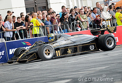 VERVA Street Racing in Warsaw, Poland Editorial Stock Image