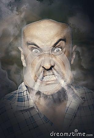 Free Very Angry Man Royalty Free Stock Photos - 74947388