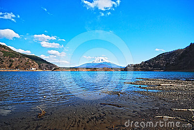 Very Beautiful Mount Fuji hdr