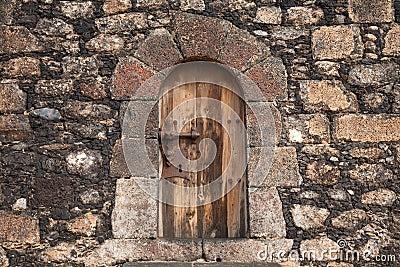 Very closed door
