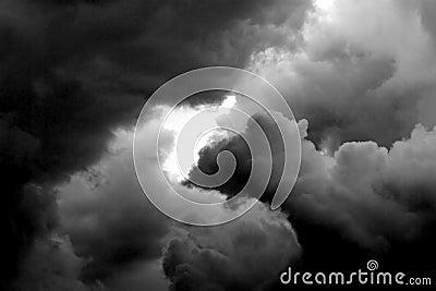 Very dark very cloudy weather the storm prepares 2