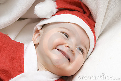 A very funny Santa Claus.