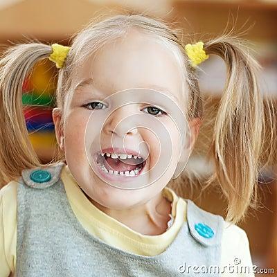 Very happy child