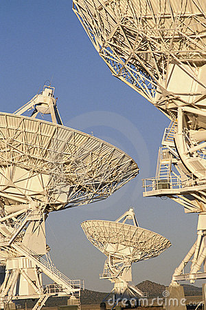 Very large Array of Satellite Dishes