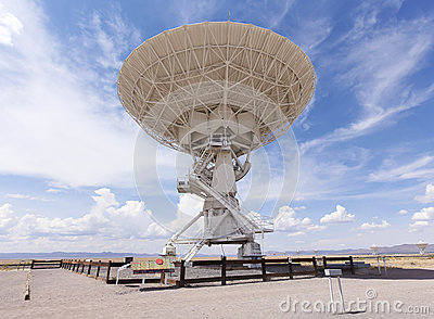 A Very Large Array Scene in New Mexico Editorial Stock Photo