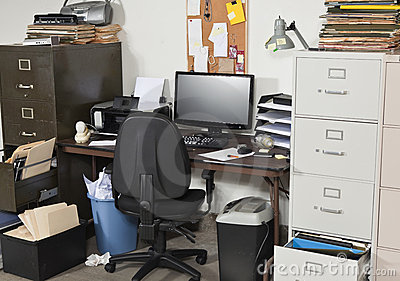 Very Messy Office