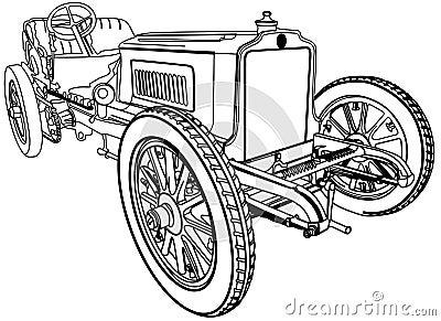 Very nice old car