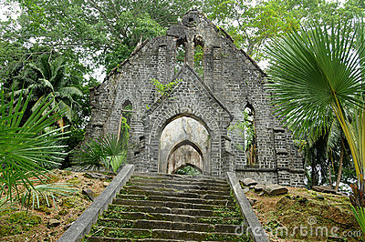 Very old abandoned church