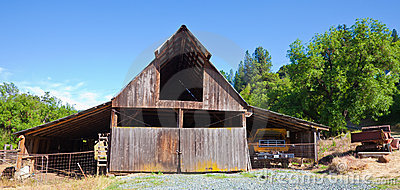 Very Old Barn