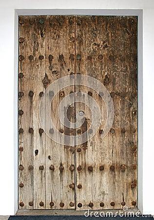 A very old door in Mexico