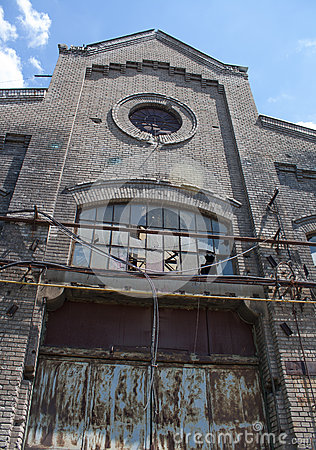 The very old metal factory