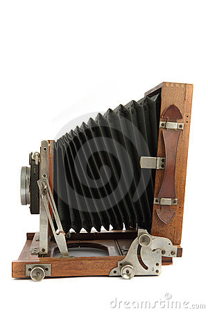 Very old photo camera