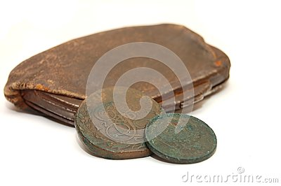 Very old purse of 19 centuries