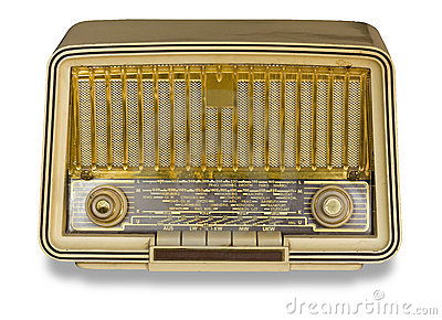 Very Old Radio. Vintage radio