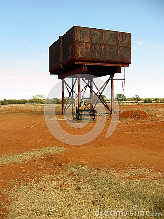 Outback Water Tank
