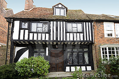 Very old tudor house