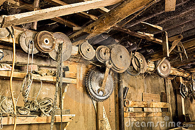 Very old workshop