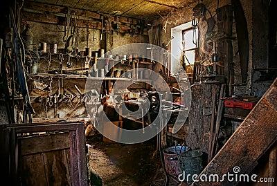 Very old workshop