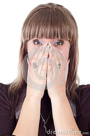 Free Very Surprised Girl Stock Photos - 13899253