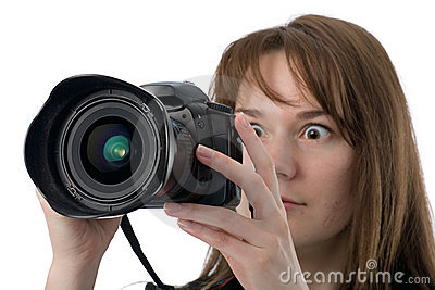 Very surprised photographer
