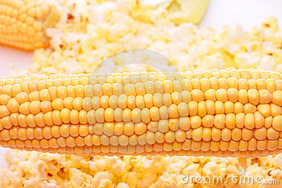 Very tasty fresh corn and popcorn