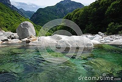 Verzasca Valley in Ticino