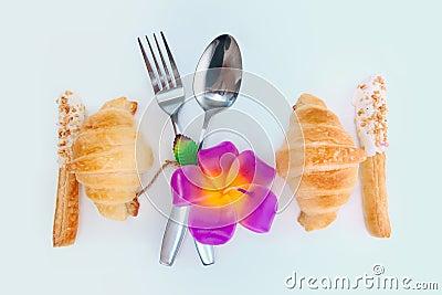 Verzieren Sie Nahrungsmittelauslegung für Liebe