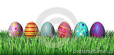 Verzierte Eier