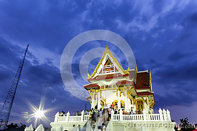 The vesak day in thailand Editorial Image