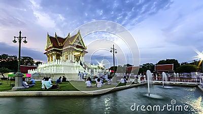 The vesak day in thailand Editorial Photo
