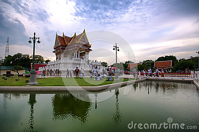 The vesak day in thailand Editorial Stock Photo