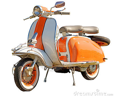 Vespa on Stock Image  Vespa  Image  10591911
