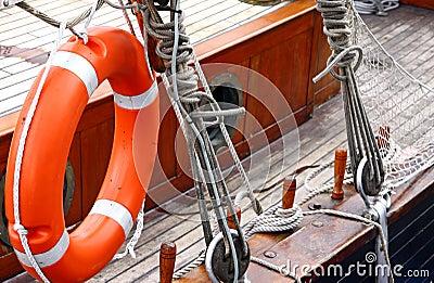 Vessel deck