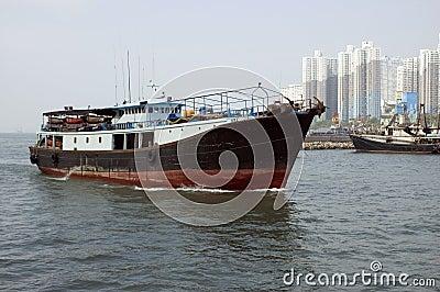 Vessel in Hongkong