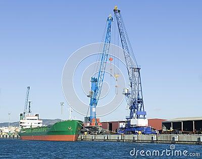 Vessel at port