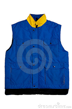 Veste azul