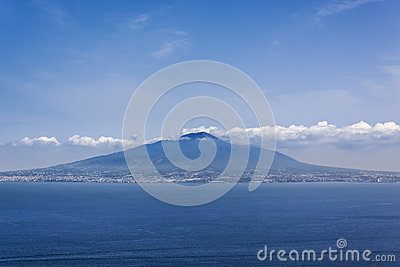 Vesuvius, looking from Sorrento