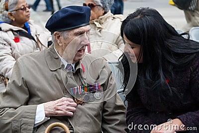 Veteran Editorial Image