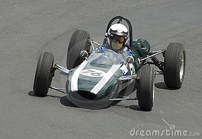Veteran Cooper Climax F1 Racing Car Editorial Stock Image