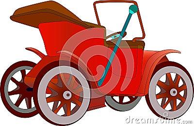Veteran motor car