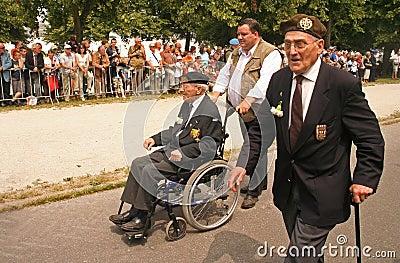 Veterans Editorial Stock Photo