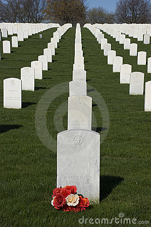 Veterans Cemetery, Memorial Day, National Holiday Stock Image - Image: 13966001