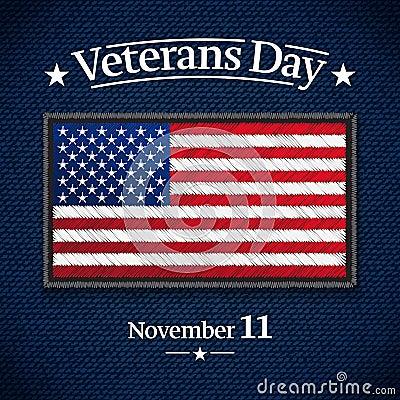 Free Veterans Day Banner Stock Photo - 127042940