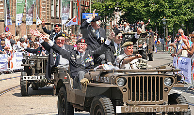 Veterans in Jeeps Editorial Image