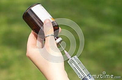 Veterinarian injection